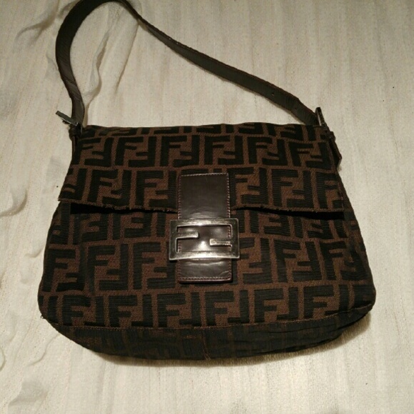 1377fbcc35 FENDI Bags | Authentic Zucca Mama Forever Hobo Bag | Poshmark