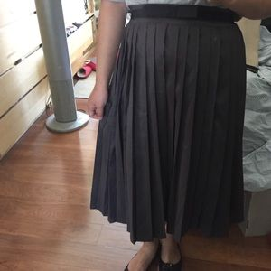 Shabby Apple Dresses & Skirts - Pleated Midi Skirt NWOT
