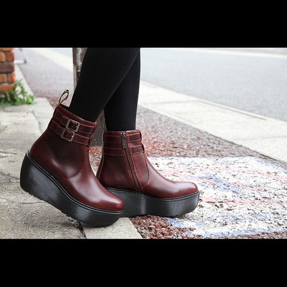 58d172e7213 Dr. Martens Shoes - Dr. Martens Caitlin ankle boot in oxblood red
