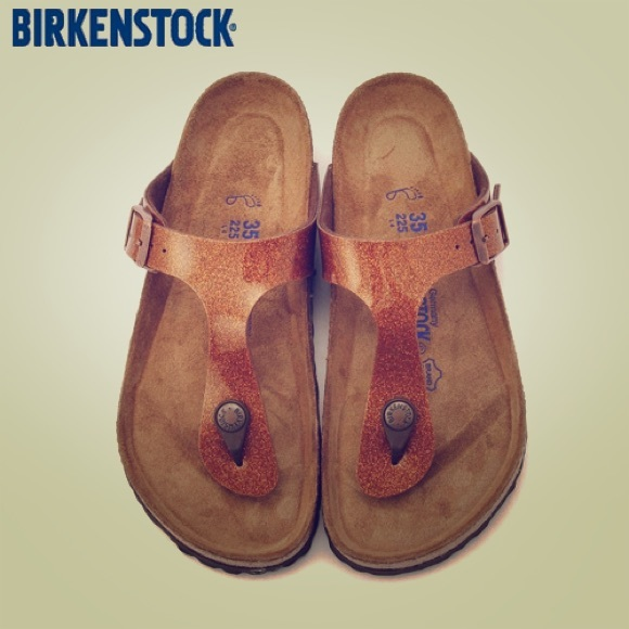 78bd98f51c048 Birkenstock Shoes Brand New Magic Galaxy Bronze Gizeh Poshmark