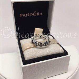 Pandora Jewelry - Pandora her majesty clear cz ring PICK A SIZE