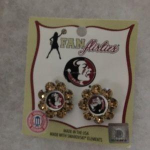 New FSU earrings