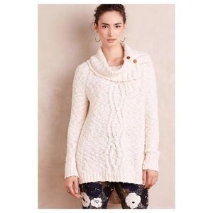 🚫Sold🚫Anthropologie Cowled Cablework Pullover