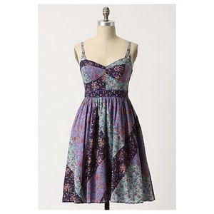 Anthropologie Collected Calico Dress