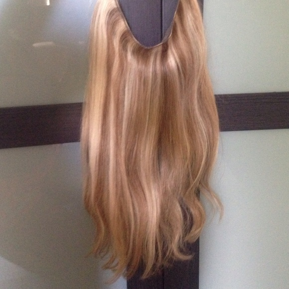 Other Blonde Highlighted Hair Extensions Poshmark
