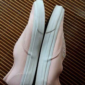 738ce2ab439cc5 Vans Shoes - Final Sale!!! Cute light pink vans without laces
