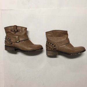 Studded ankle boots size 7