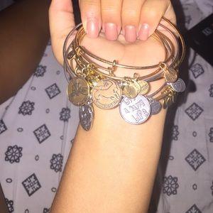 Jewelry - Alex and Ani bracelet set!