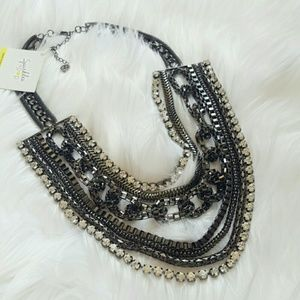 Jewelry - Layered silver statement necklace