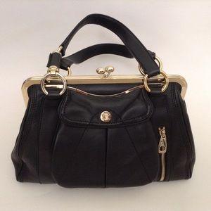 Celine Clandestine Bag in Black Calfskin