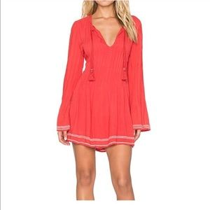 New Tularosa Audrey Dress in Watermelon