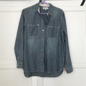 Madewell Tops - Madewell chambray shirt