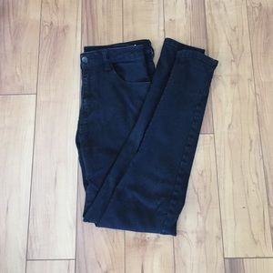 Black Forever 21 high waisted jeans
