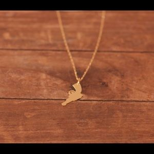 Jewelry - Gold Revolver Charm Necklace