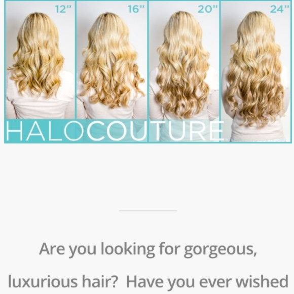 Halo Couture Other Halocouture Hair Extensions Layered 14 16 18