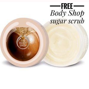 The Body Shop Other - 💝 FREE: The Body Shop Shea Sugar Body Scrub