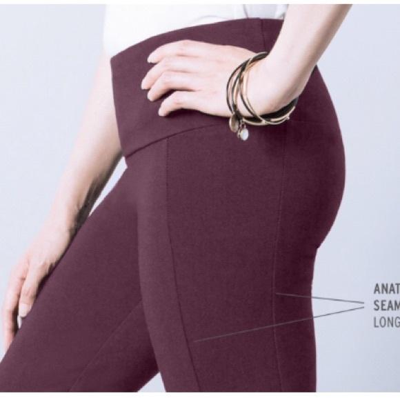 Betabrand Plum Travel Yoga Pants S New