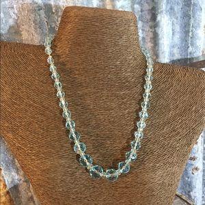 Vintage Jewelry - ✅sale✅Pretty Vintage Crystal Necklace