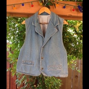 Dreams Other - 80's Vintage Denim Vest