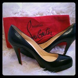 Christian Louboutin hidden platform heels
