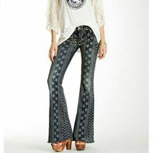 Free People Century Denim Bali Flare Jeans!