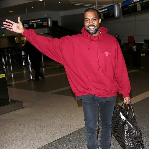 6021031fa56 Kanye West authentic I FEEL LIKE PABLO hoodie. M 57741f51291a3580820091cd