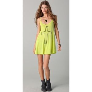 Wildfox Cross My Heart Slip Dress