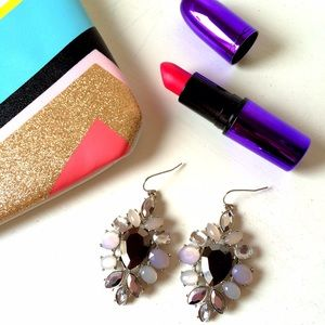 Express Jewelry - NWT Express Jeweled Statement Earrings
