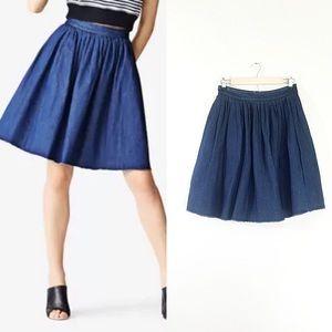 Kate Spade Saturday NWT Knife Pleated Skirt