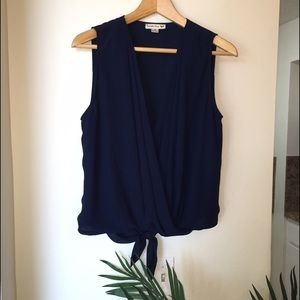 Double Zero Tops - Navy blue top