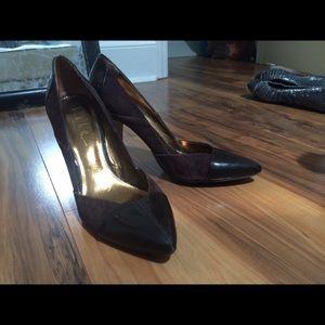 """Brown Nicole Miller 4"""" Heels"""