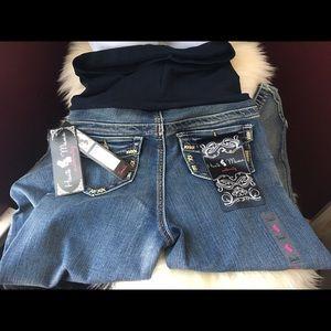 Haute Mama Maternity Pants - 🆕Super Trendy Maternity Capri Jeans
