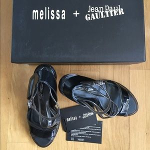 Melissa Shoes - Melissa+Jean Paul Gaultier Strappy Sandal