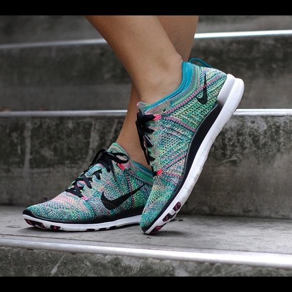 Nike Free TR Flyknit 5.0 Multicolored Sneakers