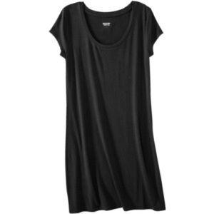 Mossimo Supply Co. Dresses & Skirts - Mossimo Black Tshirt Dress