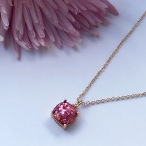 Jewelry - Pink Sequin Pendant Necklace