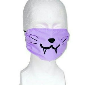 🔴SOLD🔴Kawaii Purple Cat Mask