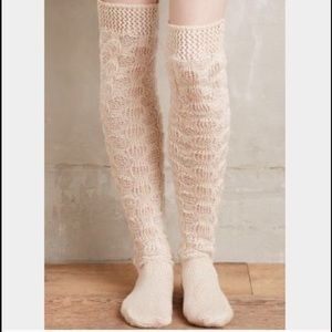 Anthropologie Far Away From Close Knit Socks