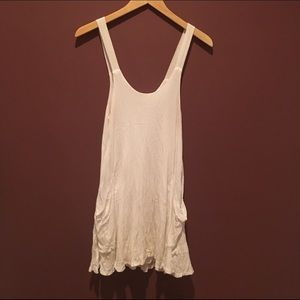 Zara white Trafaluc dress