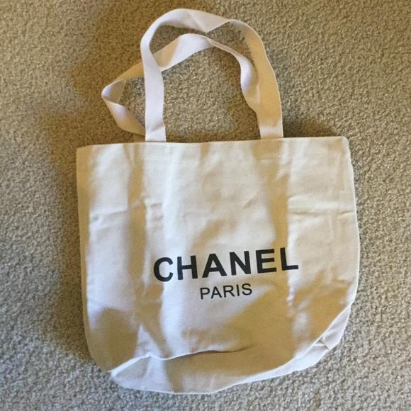7cbcb350aad3 CHANEL Bags | Sale Vip Gift Canvas Bag | Poshmark