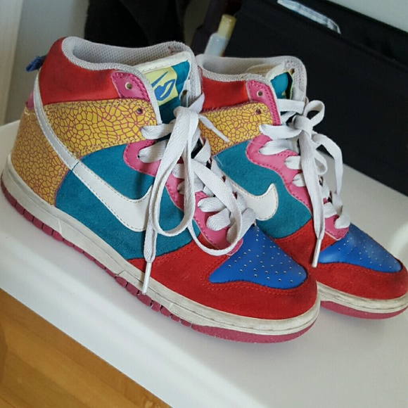 newest b8859 99332 Nike 6.0 High Top Dunks Multicolor. M57745c70c2845629a1005db9