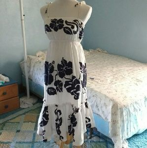 Vintage Hawaiian sun dress 1960s