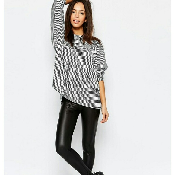 f42eb5c1abfaa6 ASOS Pants | Petite Faux Leather Leggings | Poshmark