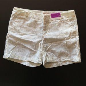 Merona Pants - Merona White Shorts