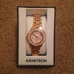 Armitron Accessories - Armitron rose gold watch