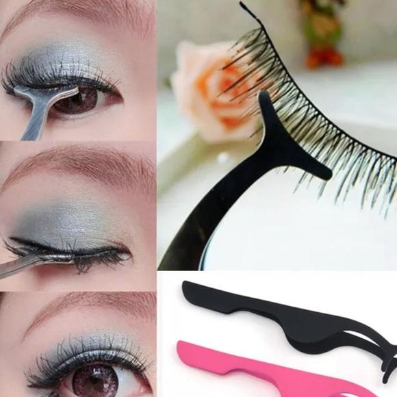51twenty Makeup Black Eyelash Applicator Tweezer Tool Poshmark