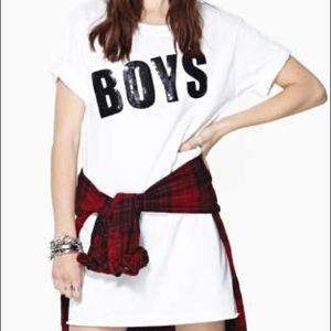 Boys Sequin Sweatshirt Dress