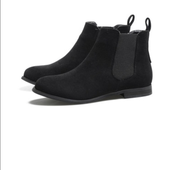 H Amp M Shoes Hm Womens Suede Ankle Chelsea Boots Poshmark