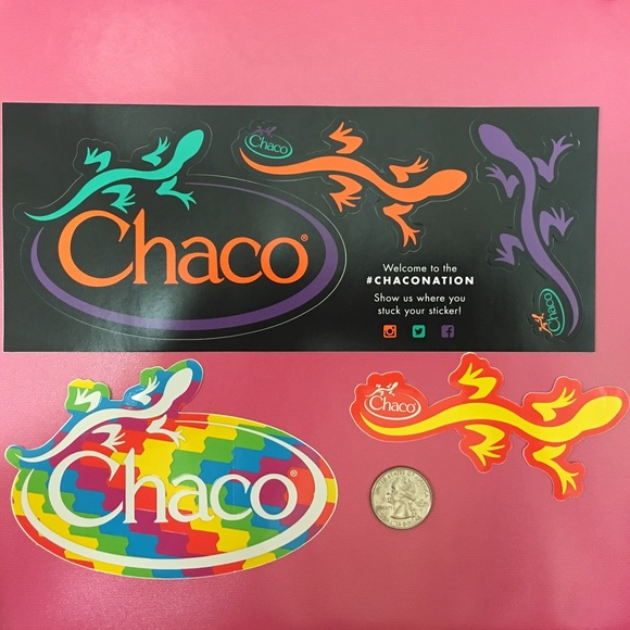 Bundle of Chaco Stickers