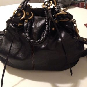 Francesco Biasia Handbags - Authentic leather satchel